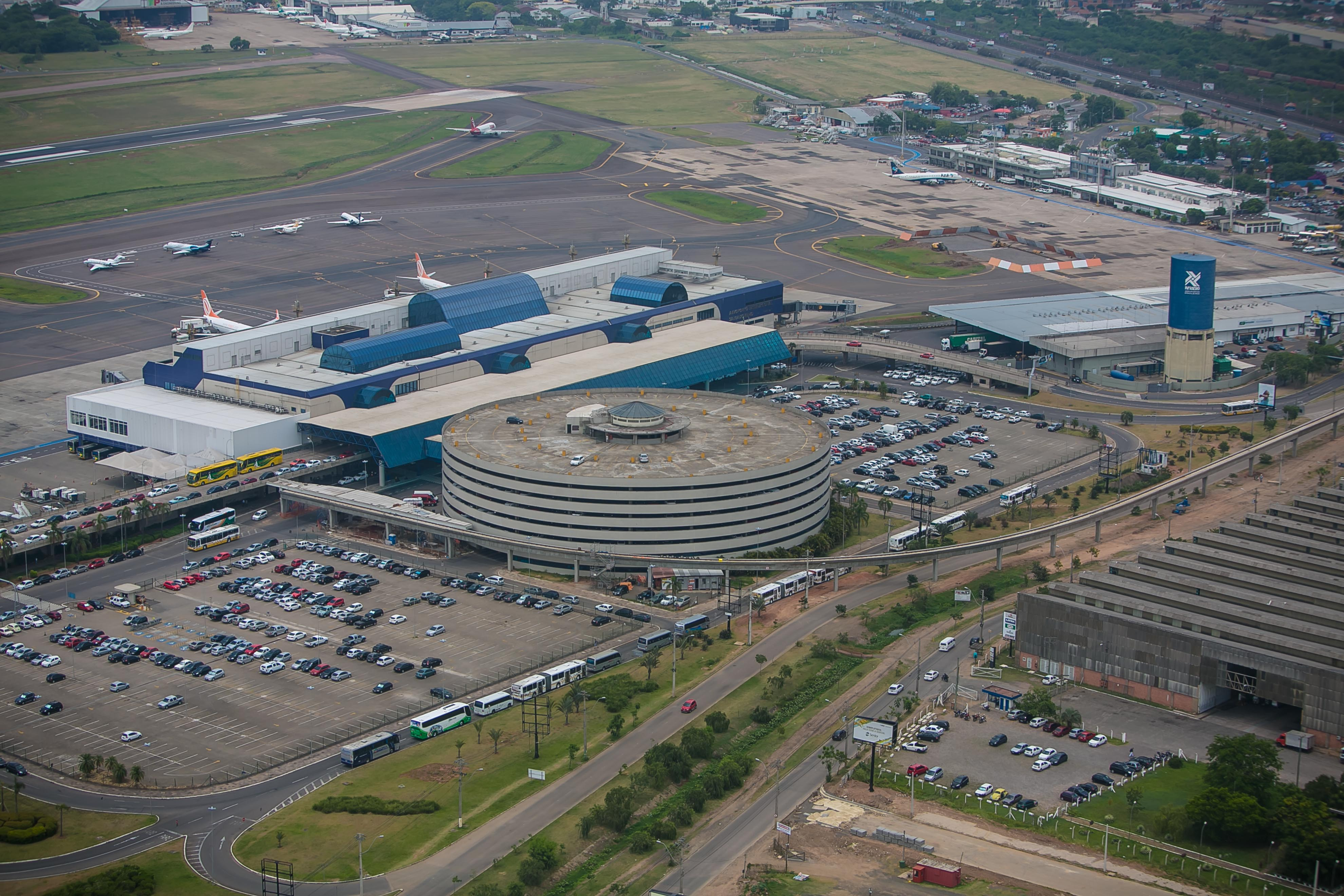 Aeroporto Porto Alegre : Terminal de cargas do aeroporto porto alegre registra