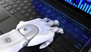 tecnologia robotização