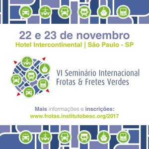 Seminário Internacional Frotas e Fretes Verdes