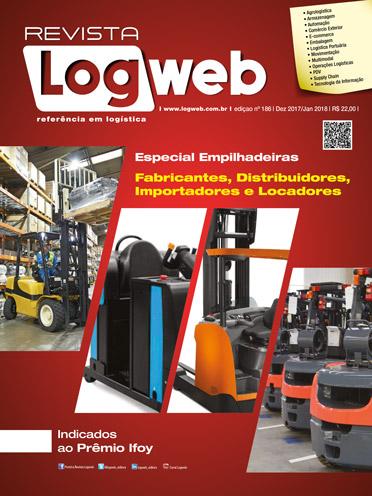 Revista Logweb Edição Edição 186 – Dezembro 2017/Janeiro 2018