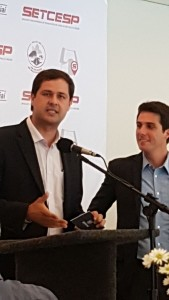 Prefeito e Presidente do SETCESP