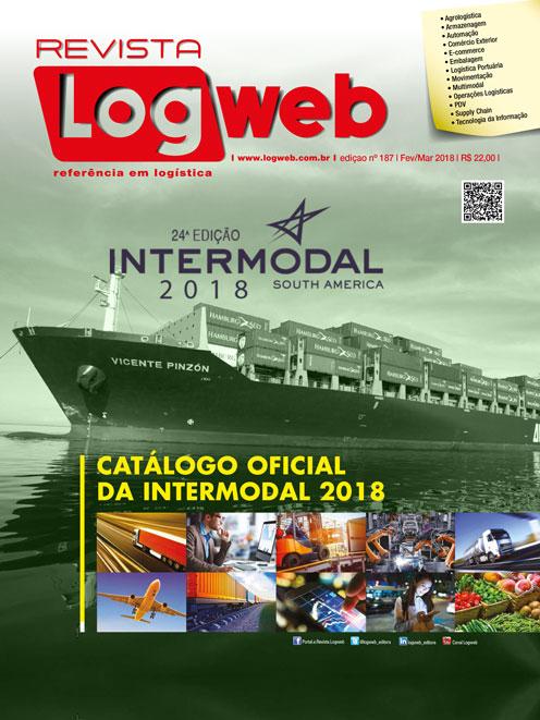 Revista Logweb Edição Edição 187 – Março 2018