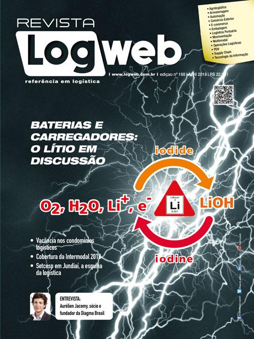 Revista Logweb Edição Edição 188 – Abril 2018
