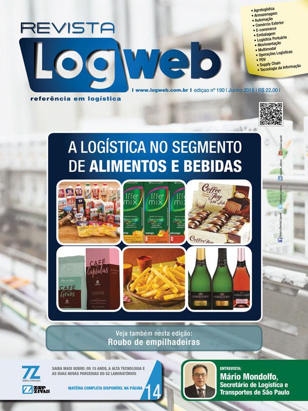 Revista Logweb Edição Edição 190 – Junho 2018