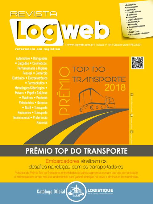Revista Logweb Edição Edição 194 – Outubro 2018