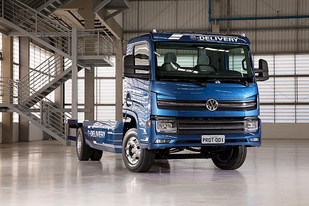 Caminhões Volkswagen desembarcam na Logistique
