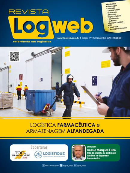 Revista Logweb Edição Edição 195 – Novembro 2018