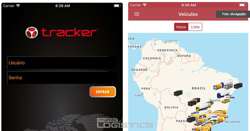 Grupo Tracker lança nova versão do aplicativo para produtos GPS