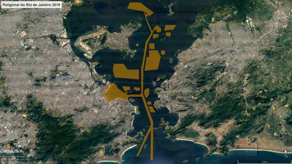 Docas do Rio divulga as novas poligonais dos portos