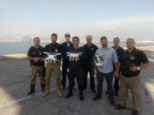 ação da guarda portuária e receita federal no porto do rio de janeiro