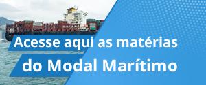 Acesse aqui as matérias do Modal Marítimo