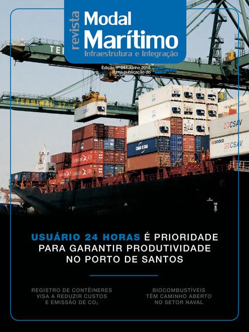 Revista Logweb Edição Revista Modal Marítimo – Edição 4 – Julho 2018