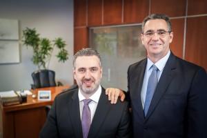Daniel Randon e David Abramo Randon (D). FOTO: Jefferson Bernardes/ Agência Preview