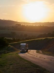 Scania R 500 6x4 grain transport