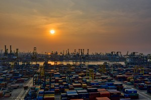 seaport-during-golden-hour-3057960