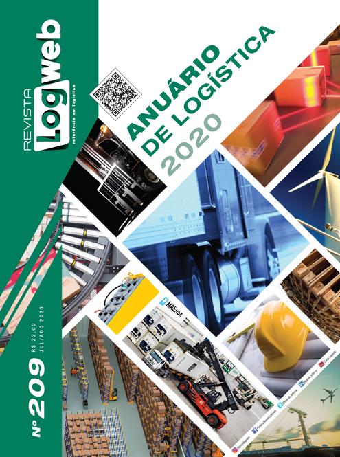 Revista Logweb Edição Edição 209 – Julho/Agosto 2020