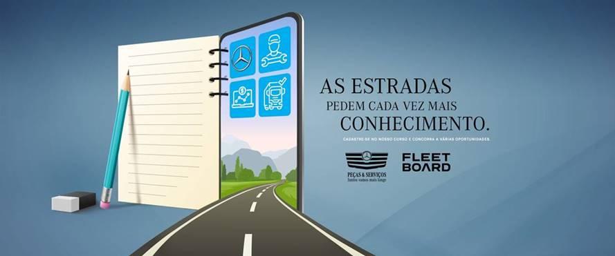 Mercedes-Benz oferece curso online gratuito para caminhoneiros