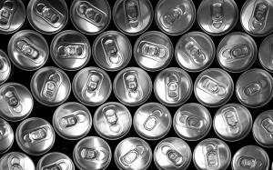 Importação de Latas de alumínio