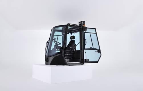 Linha de Big Trucks da Hyster® recebe nova cabine, mais ergonômica