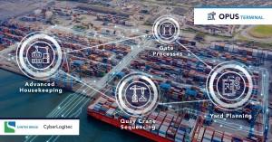 Santos Brasil seleciona OPUS Terminal da CyberLogitec para alinhar suas operações nos dois maiores terminais, Santos (imagem) e Barcarena. (PRNewsfoto/CyberLogitec)