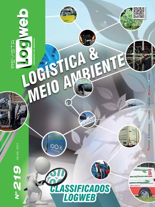 Revista Logweb Edição Edição 219 – Julho 2021